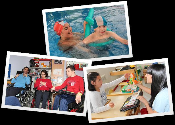 Ayuda a personas con parálisis cerebral
