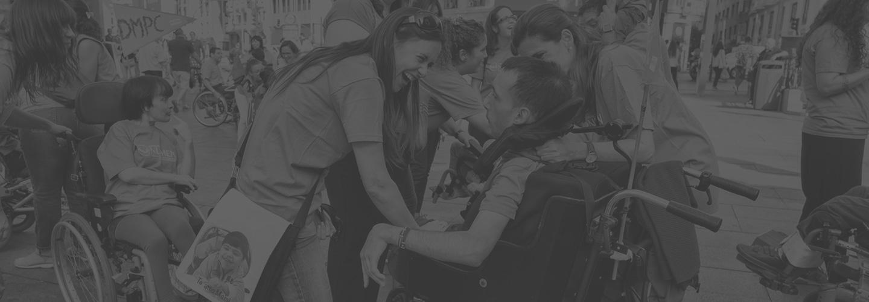 Aspace, atención a personas con parálisis cerebral
